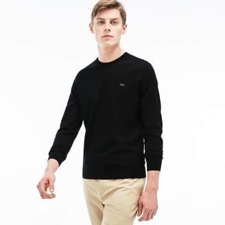Lacoste Men's Cotton Jersey Crewneck Sweater