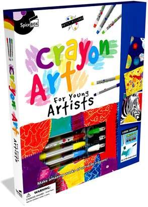 Spicebox SpiceBox Petit Picasso Crayon Art Drawing Kit