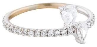 Anita Ko 18K Diamond Princess Eternity Ring