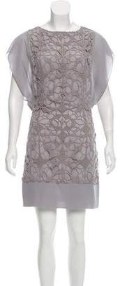 See by Chloe Lace-Trimmed Mini Dress