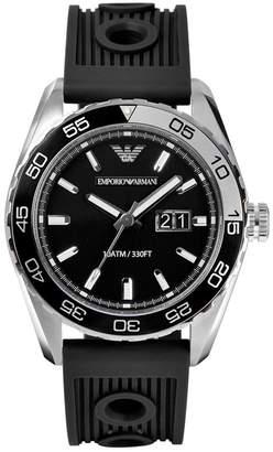 Emporio Armani Men's Sportivo AR6044 Rubber Analog Quartz Watch