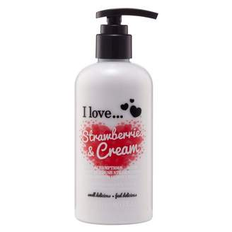 Ilove I Love Strawberries & Cream Moisturising Body Lotion 250 mL