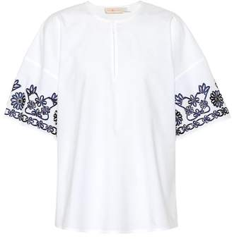 Tory Burch Amy cotton top