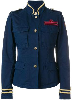 Fay military patch jacket