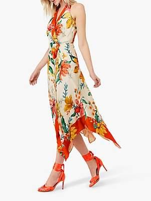 1fdb7c2f6748 Monsoon Hazel Hanky Hem Floral Dress, Ivory