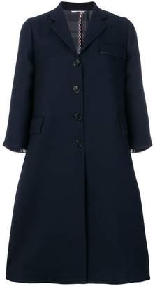 Thom Browne Unlined Wool Swing Coat