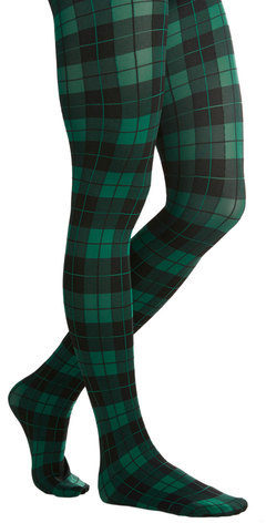 Gipsy Tights Amazing Assistant Tights in Green