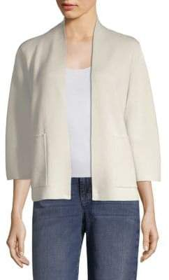 Eileen Fisher Patch Pocket Cardigan