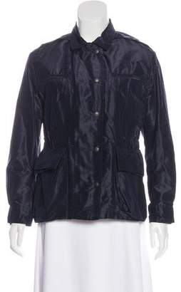 Bottega Veneta Silk Collared Jacket