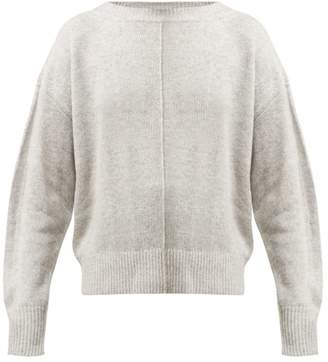 Isabel Marant Calice Cashmere Sweater - Womens - Light Grey