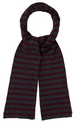 Clements Ribeiro Striped Rib Knit Scarf