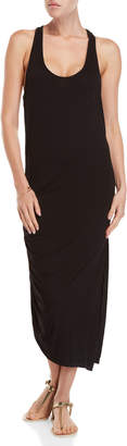 Kenneth Cole New York Black Racerback Cover-Up Maxi Dress