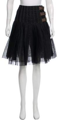Junya Watanabe Knee-Length Wrap Skirt
