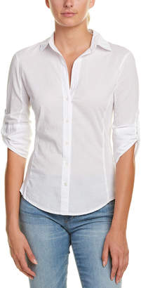 James Perse 3/4-Sleeve Blouse