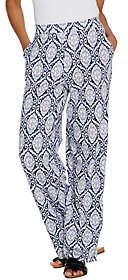 Denim & Co. Beach Tall Pull-On Wide Leg KnitPants