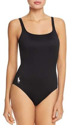 Ralph Lauren Polo Core Tank One Piece Swimsuit