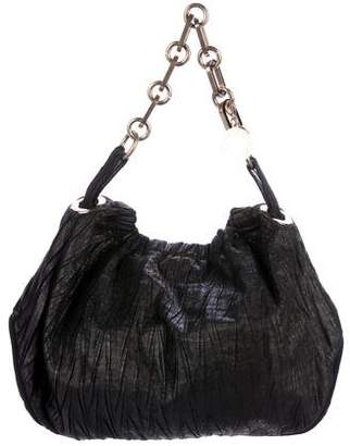 Stella McCartney Vegan Leather Pleated Bag