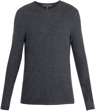 Rag & Bone Giles crew-neck ribbed-knit wool sweater