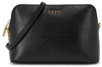 DKNY Bryant Black Leather Cross-body Bag