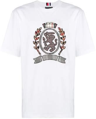 Tommy Hilfiger embroidered crest T-shirt