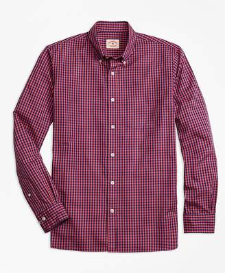 Gingham Batiste Oxford Sport Shirt $49.50 thestylecure.com