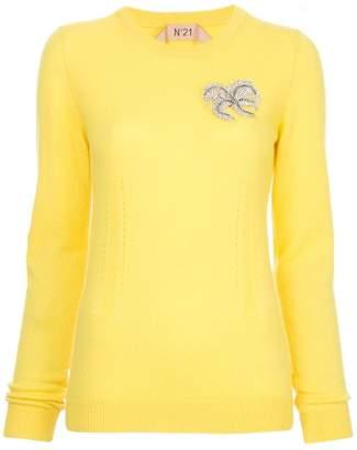 No.21 embellished jumper