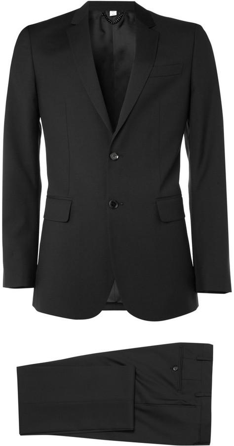 Burberry Slim-Fit Wool Suit