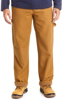 1dbc0b98 Stanley Men's Classic-Fit Fleece-Lined Carpenter Jeans