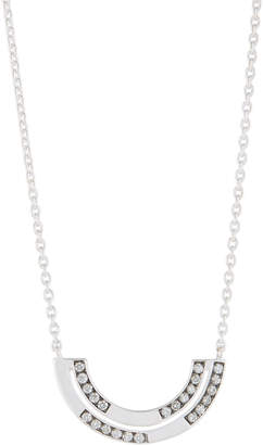 Ippolita Senso Silver Diamond Half-Arc Necklace