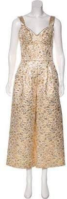 Dolce & Gabbana Metallic Brocade Jumpsuit