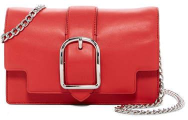 Anne Klein Peggy Leather Crossbody Bag