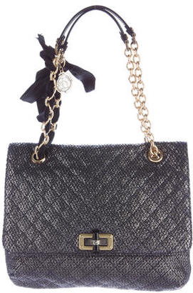 Lanvin Quilted Woven Happy Bag $495 thestylecure.com