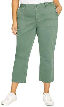 Sanctuary Curve Peace Cropped Pants