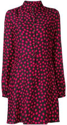 Saint Laurent polka dot print dress