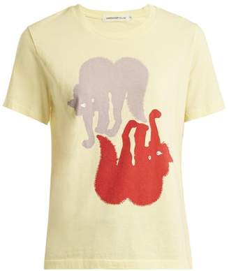 Undercover Cat-print cotton T-shirt
