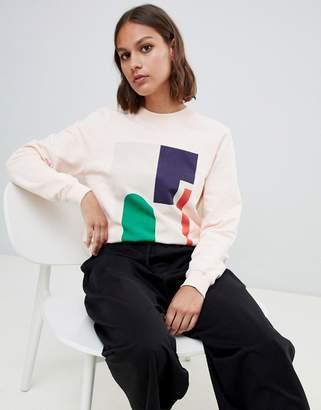 KOWTOW Kowtow organic cotton sweatshirt in abstract print