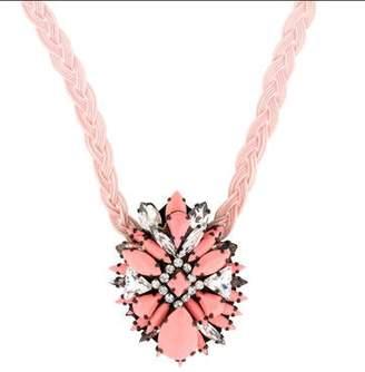 Shourouk Ikat Rose Necklace