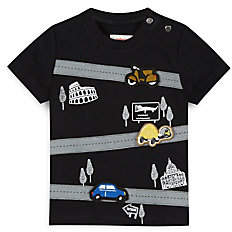 Catimini Baby's & Little Boy's Playful Patch Cotton T-Shirt