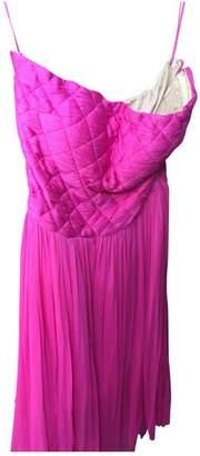 Pablo Pink Silk Dress for Women