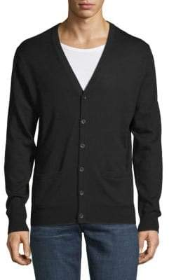 Saks Fifth Avenue Merino Wool Cardigan