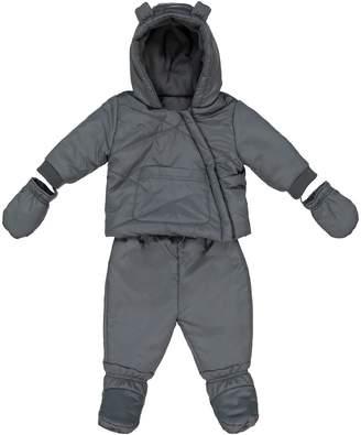 16861141d La Redoute COLLECTIONS 2-in-1 Snowsuit/Coat, 1 Month-3