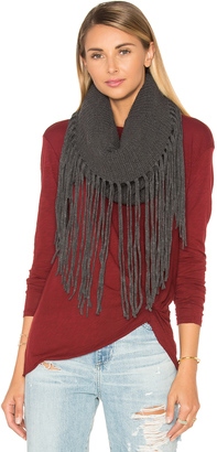 Michael Stars Fringed Out Cowl Scarf $48 thestylecure.com