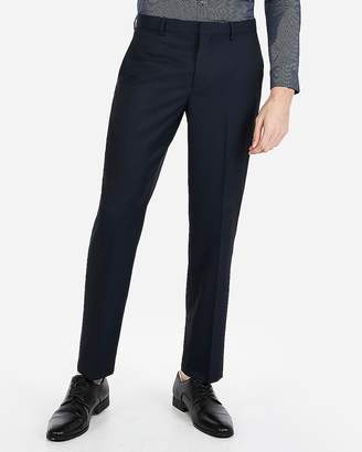 Express Classic Stretch Wrinkle-Resistant Lightweight Flannel Dress Pant