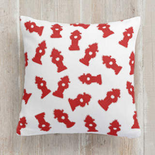 Pooch Party Square Pillow