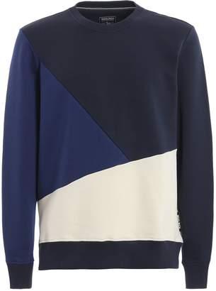 Woolrich Compact Colour Block Sweatshirt
