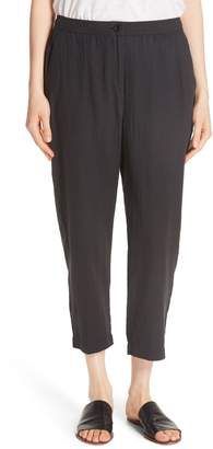 Eileen Fisher Tapered Cropped Pants
