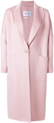 Max Mara peak lapel coat