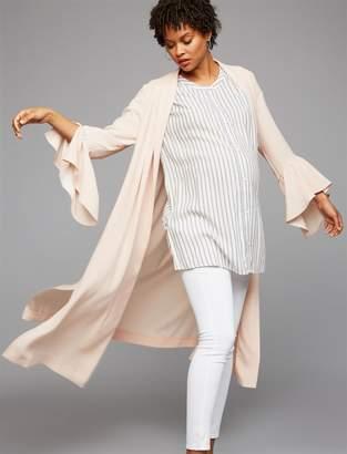 BCBGMAXAZRIA Dina Maternity Robe Jacket