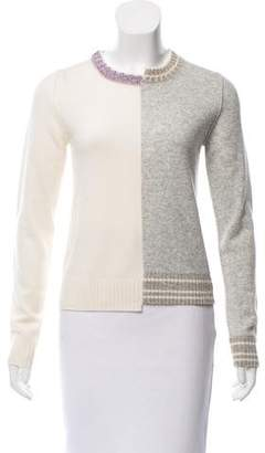 Zadig & Voltaire Metallic-Accented Wool Sweater w/ Tags