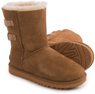 UGG® Australia Fairmont Sheepskin Boots - Suede (For Women) $99.99 thestylecure.com